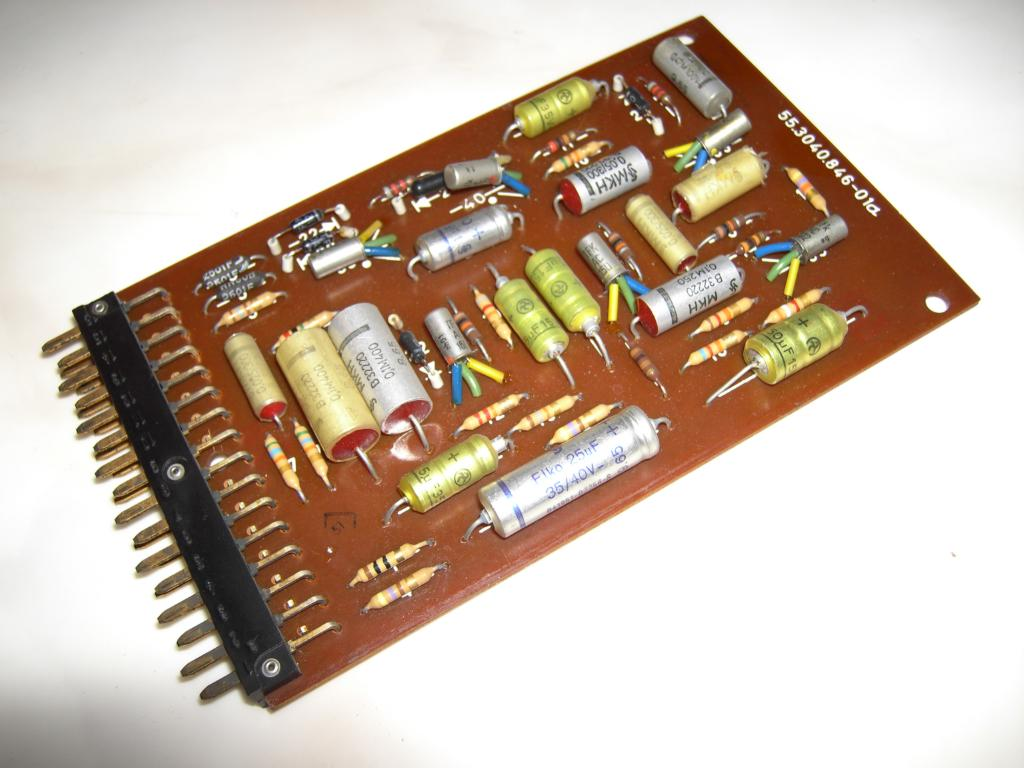 The Telefunken Ra 741 Analog Computer Amplifier Circuit
