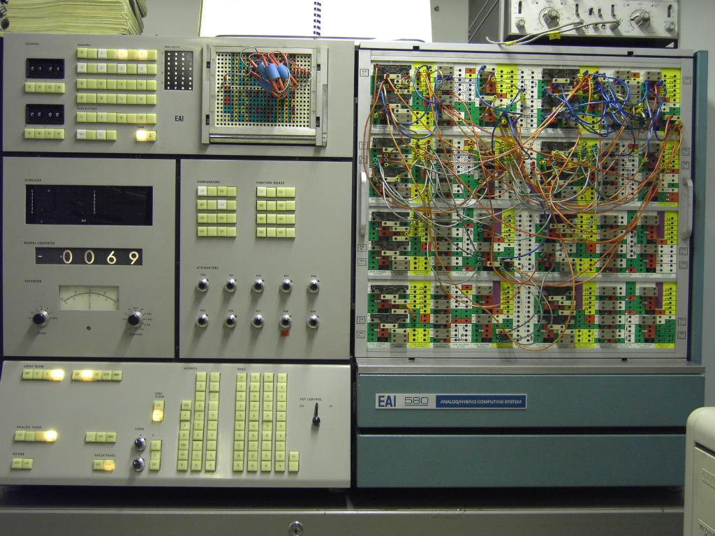 Simulating A Car Suspension System On An Eai 580 Analog Computer