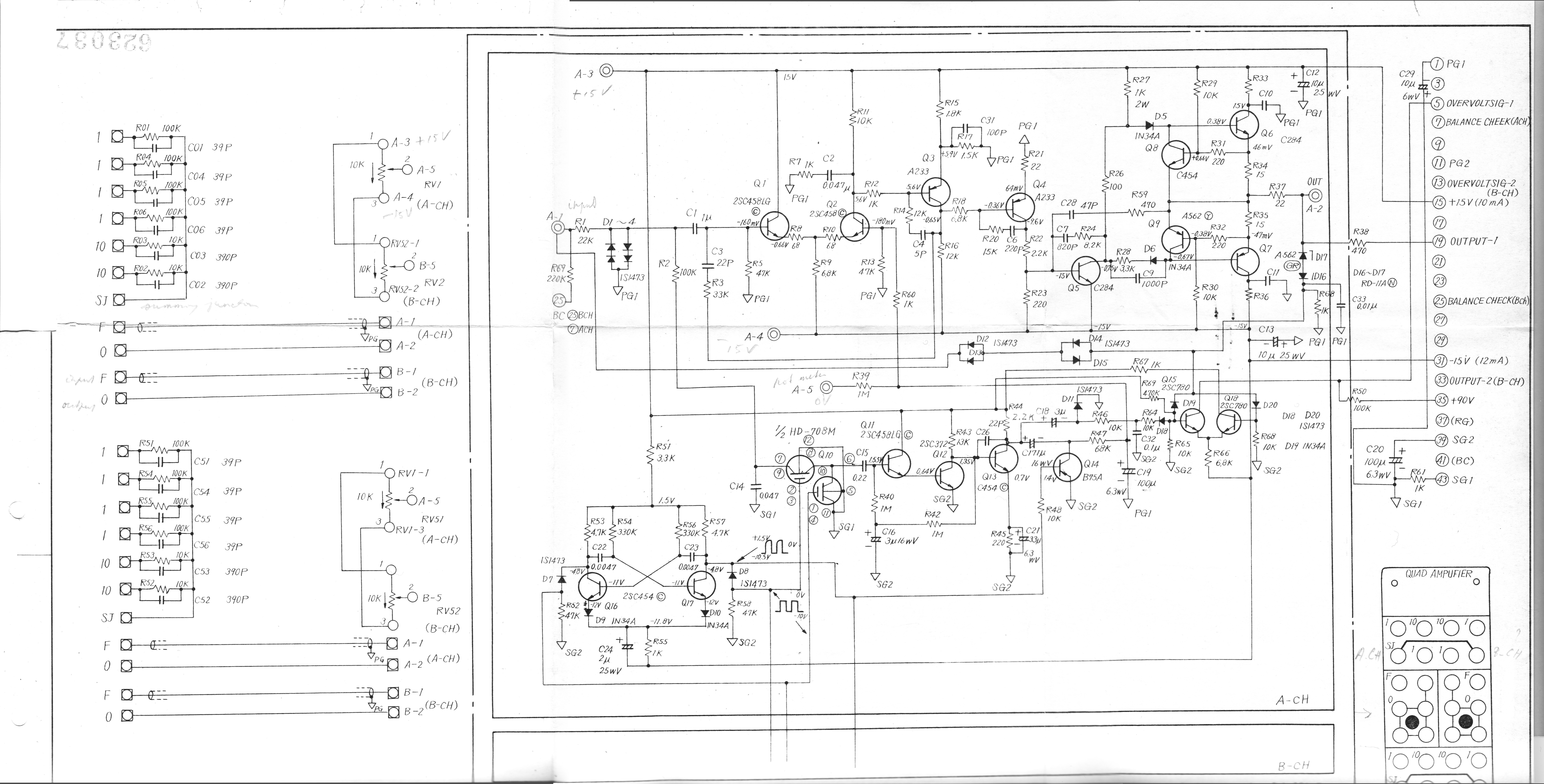 The Analog Computer Museum Library Hitachi Control Box Wiring Diagram Schematics